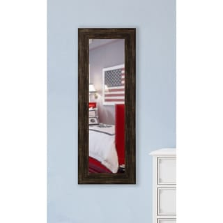 American Made Rayne Brushed Classic Brown Body Mirror