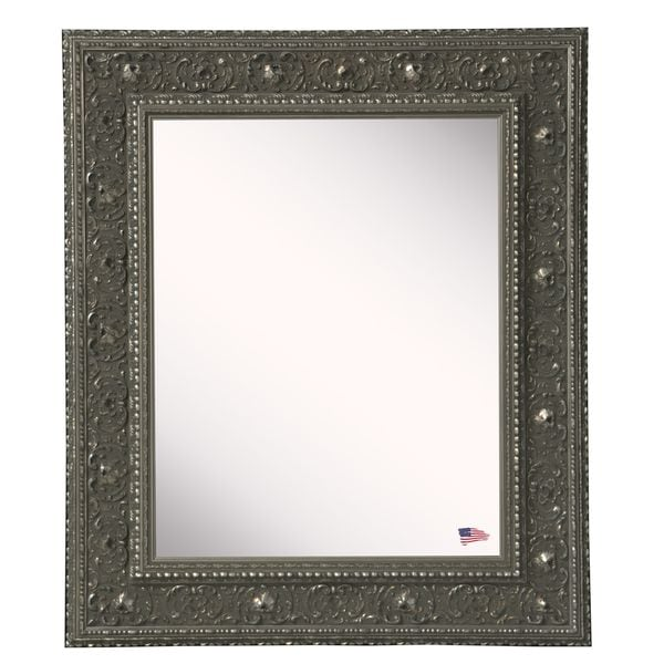American Made Rayne Opulent Silver Vanity Wall Mirror