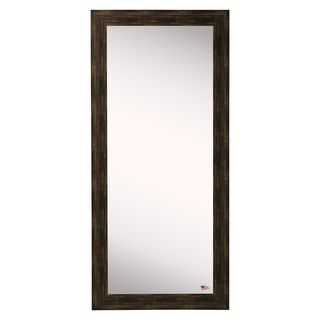 American Made Rayne Brushed Classic Brown 30.5 x 65.5-inch Wall Vanity Floor Mirror