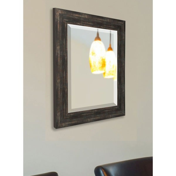 American Made Rayne Brushed Classic Brown Mirror