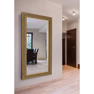 American Made Rayne Extra Large 41 x 80-inch Opulent Gold Vanity Mirror