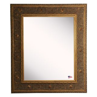 American Made Rayne Opulent Gold Vanity Wall Mirror