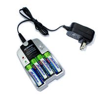 ACDelco Quick Charge Battery Charger for AA and AAA Rechargeable Batteries