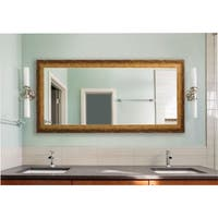 American Made Extra Large Tarnished Bronze  Mirror