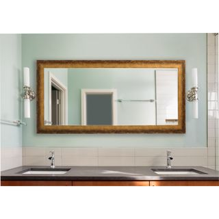 American Made Rayne Extra Large Tarnished Bronze Mirror