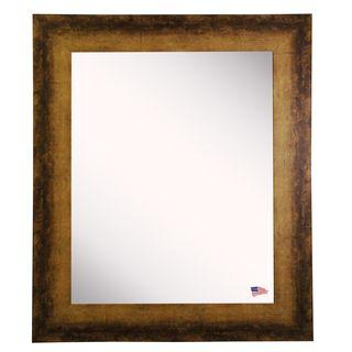 American Made Rayne Tarnished Bronze Wall Mirror