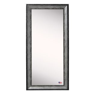 American Made Rayne Sterling Charcoal 31.5 x 66.5-inch Wall Vanity Floor Mirror