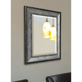 American Made Rayne Sterling Charcoal Wall Mirror