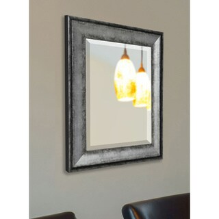 American Made Rayne Sterling Charcoal Wall/ Vanity Mirror - Silver/Grey (More options available)