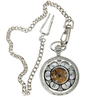 Picard and Cie Men's Skeleton Pocket Watch