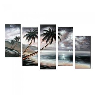 Hand-painted Cloudy Sky Modern Nature Landscape 1200