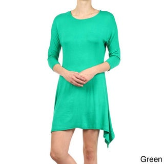 MOA Collection Women's Dolman Sleeve Dress