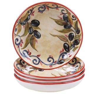 Certified International Umbria 8.5-inch Soup/Pasta Bowls (Set of 4)