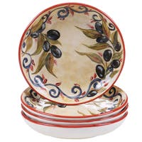 Certified International Umbria 4-piece 8.5-inch Soup/Pasta Bowls Set