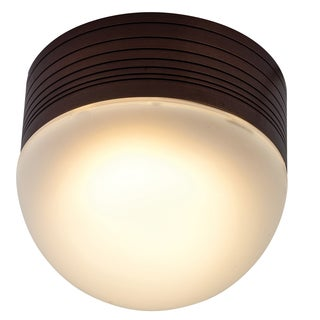Access Lighting MicroMoon 1-light Bronze Flush/Wall Mount