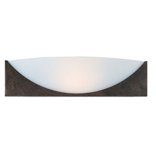Access Lighting Thebes 1-light Rust Wall Sconce