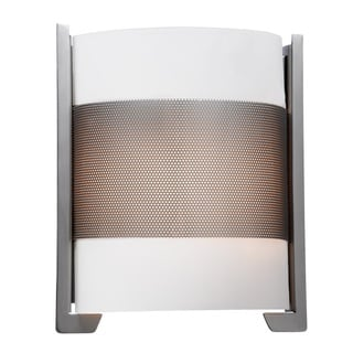 Access Lighting Iron 2-light Brushed Steel Wall Sconce