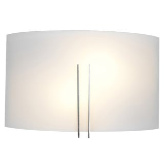 Access Lighting Prong 2-light Brushed Steel Vanity