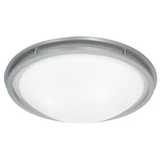 Access Lighting Aztec LED-light 22 inch Brushed Steel Flush Mount