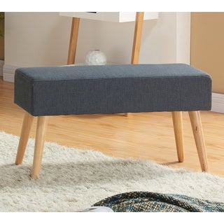 Spencer Compact Fabric Bench