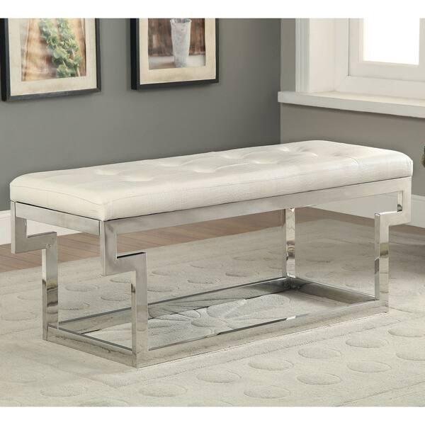 Shop Furniture Of America Jiva Contemporary Small Faux