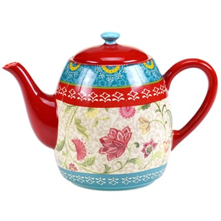 Certified International Anabelle Teapot 40-ounce
