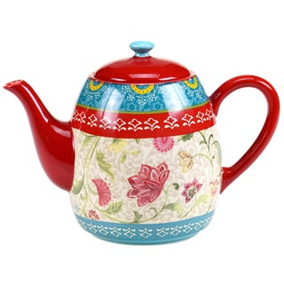 Certified International Anabelle Teapot 40-ounce