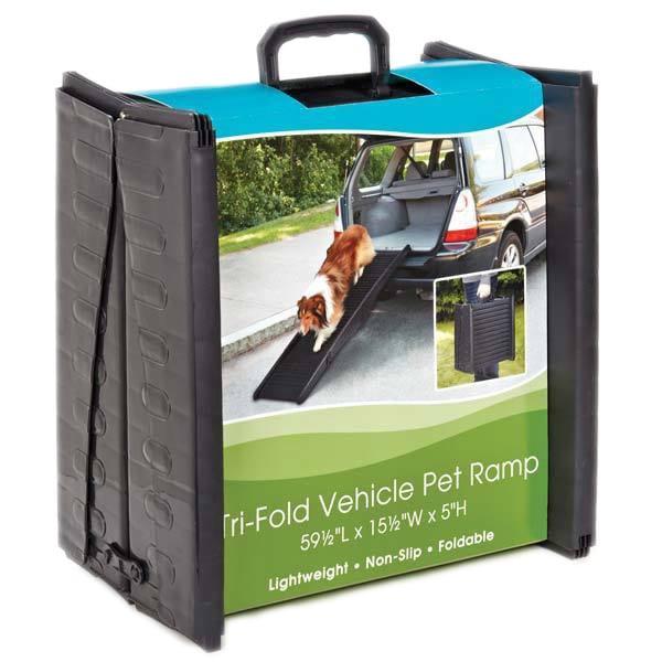 Guardian Gear Tri-fold Vehicle Pet Ramps (Tri-fold), Blue