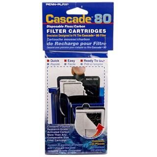 Penn Plax Cascade Hang-on Power Filter Replacement Cartridges (Pack of 9)
