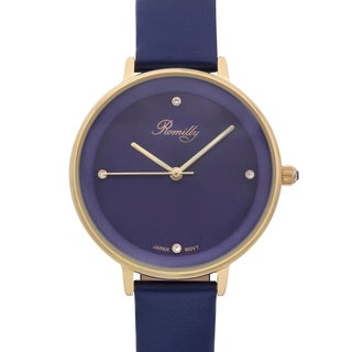 Romilly Women's Royalty Blue Genuine Leather Watch