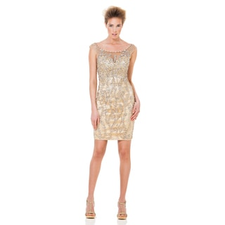 Terani Couture Fully Embellished Short Cocktail Dress