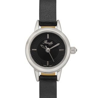 Romilly Women's Jolliet Black Genuine Leather Watch