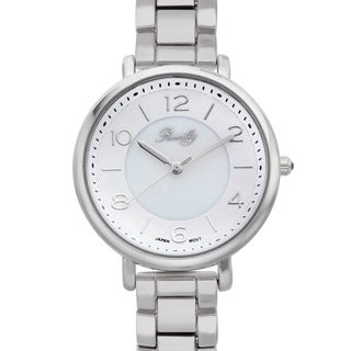 Romilly Women's Gouyen Mother of Pearl Textured Dial Watch