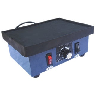 "Vibrator for Casting,with 4"" rubber table 110V"