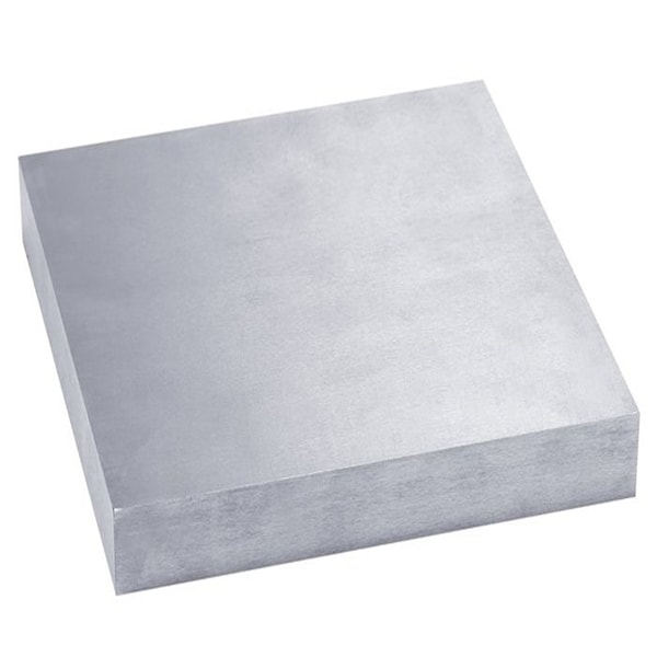 "Bench Block Solid Hardend steel 4""x4"" x 1/2"""