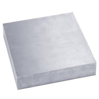 "Bench Block Solid Hardend steel   4""x4"" x 1/2"""