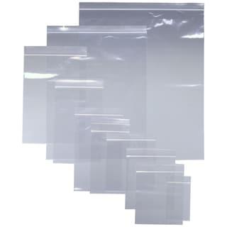 """PLASTIC ZIP SEAL BAGS 1"""" X 1"""", 1000 bags"""