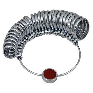 36-Piece Metal Ring Sizer - Check Ring Size at Home