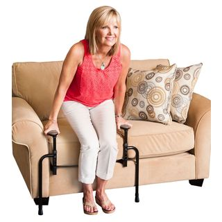 Stander EZ Stand N' Go -djustable Standing Aid and Dual Support Handles for Chairs, Recliners, and Sofas