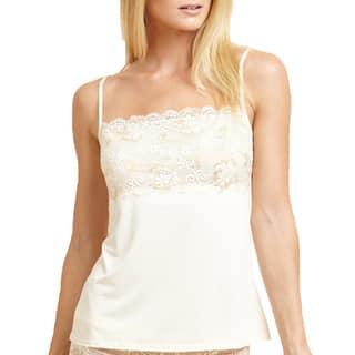 Prestige Biatta Victoria Ivory Cross Dyed Lace Cami|https://ak1.ostkcdn.com/images/products/11446696/P18405948.jpg?impolicy=medium