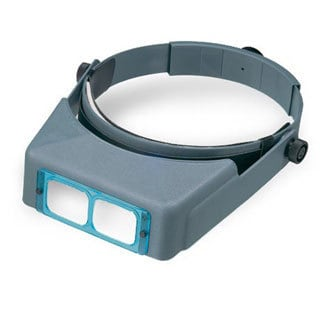 Donegan Optivisor Magnifier Jewelry Reading Jeweler Opti ...