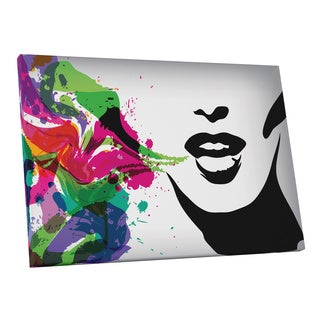Pop Art 'Speaking in Colors' Gallery Wrapped Canvas Wall Art