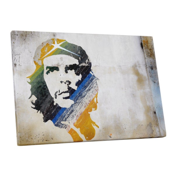 Shop Pop Art \'Che Guevara\' Gallery Wrapped Canvas Wall Art - On Sale ...