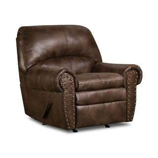Simmons Upholstery Padre Espresso Rocker Recliner