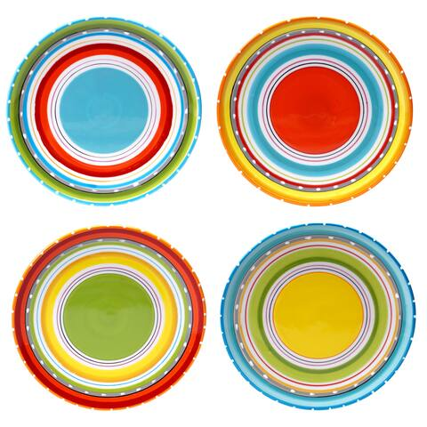 Certified International Mariachi Salad/Dessert Plates (Set of 4)