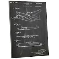 Cole 'Hughes Airplane' Gallery Wrapped Canvas Wall Art