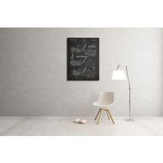 Cole 'Golf Club' Gallery Wrapped Canvas Wall Art