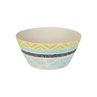 Caribbean Collage Round Serving Bowl