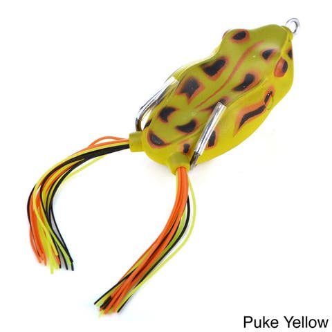 Cabo 65mm Soft Rubber Hollow Frog Freshwater Fishing Soft Plastics Lure