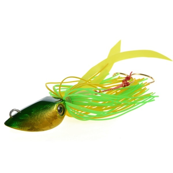 Cabo Squid Head Fishing Lure with Rubber Skirt